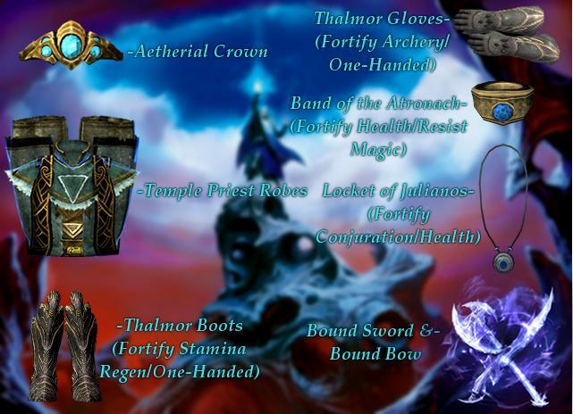 Tamriel Vault - Character Build: The High Summoner