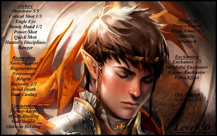 Tamriel Vault - Character Build: The Arcane Rogue
